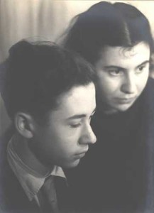 Etty en Mischa Hillesum
