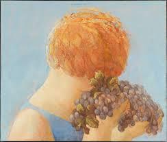 Kwast_Stilleven Druiven