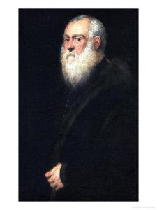 Tintoretto_Man met witte baard